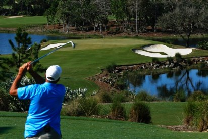 Calusa Pines Golf Club, Hole No. 16