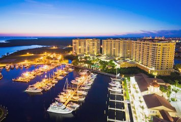 A Perk of Owning Cape Coral, Florida Real Estate - Marina's Like This One at Tarpon Point