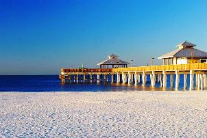 A Perk of Owning Fort Myers Beach Real Estate - the Ft. Myers Beach Pier
