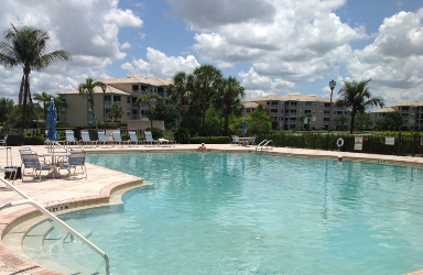 A Perk of Owning Heritage Cove Real Estate - Heritage Cove Clubhouse Pool