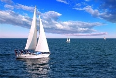 A Perk of Owning Pt. Charlotte, Florida Real Estate - Charlotte Harbor Sailing